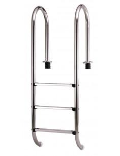Einbaubeckenleiter für 120 cm Tiefe (schmale Ausführung)