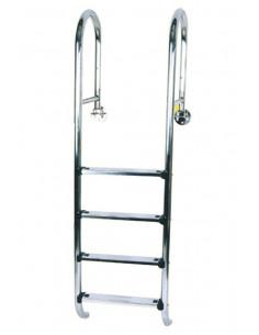 Einbaubecken - Kippleiter für Pools bis 150 cm Tiefe, (schmale Ausführung) Art.Nr.: 018019