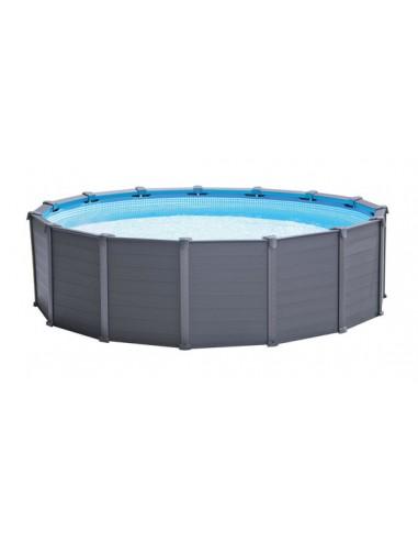 Intex Poolfolie für Wood und Graphit Ø 478x124 cm