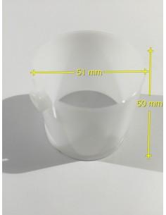 Kunststoffeinsatz für horizontale Stangen