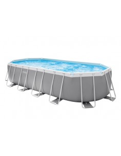 Frame Pool Set Prism Oval 610x305x122 cm