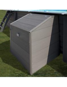 Technikraum für Sandfilteranlage (Composite Pool)