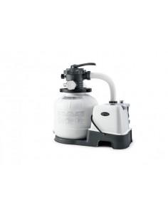 Intex Krystal Clear Sandfilteranlage & Salzwassersystem 6 m³, Modell Eco 15220-2