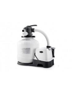 Intex Krystal Clear Sandfilteranlage & Salzwassersystem 8 m³, Modell Eco 20220-2