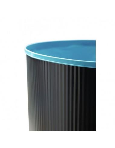 Ovalfolien für Stahlwandpools, Einhängebiese, 120 cm Höhe