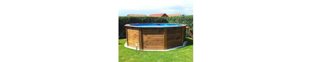 Pools - Echtholz Pools rund -  günstig kaufen bei pool-discount.at