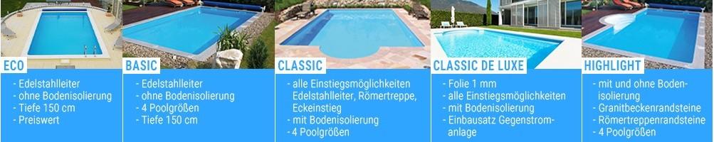 Pools - Massivpools -  günstig kaufen bei pool-discount.at